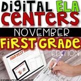 DIGITAL FIRST GRADE ELA CENTERS NOVEMBER