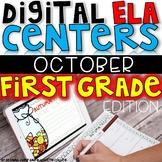 DIGITAL FIRST GRADE ELA CENTERS OCTOBER