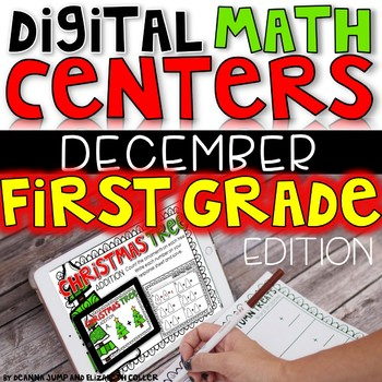 DIGITAL FIRST GRADE MATH CENTERS DECEMBER
