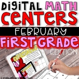 DIGITAL FIRST GRADE MATH CENTERS FEBRUARY