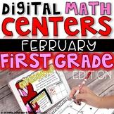 DIGITAL FIRST GRADE MATH CENTERS FEBRUARY