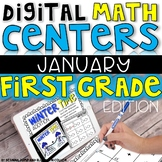 DIGITAL FIRST GRADE MATH CENTERS JANUARY