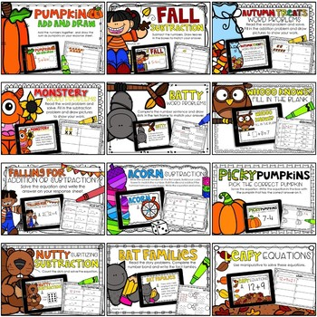 DIGITAL FIRST GRADE MATH CENTERS OCTOBER