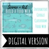 "DIGITAL FOOD WEB: Interactive Google Classroom ""Create a F"
