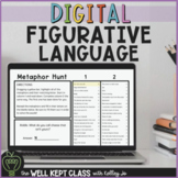 DIGITAL Figurative Language Practice | Distance Learning