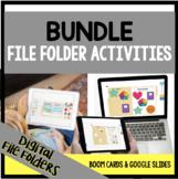 DIGITAL File Folder Activities {BUNDLE}