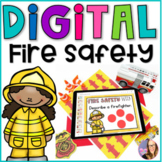 DIGITAL Fire Safety Activities - Distance Learning
