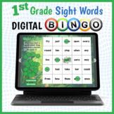 DIGITAL 1st Grade Sight Words Vocabulary Bingo Game