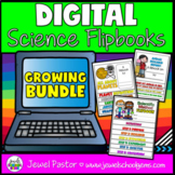 DIGITAL Flipbook GROWING BUNDLE (Google Classroom Distance