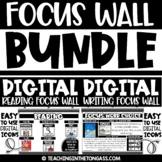 DIGITAL Focus Wall BUNDLE (Digital Writing and Reading Foc