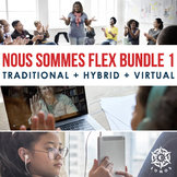 Nous Sommes DIGITAL French Curriculum Bundle: Semester 1,
