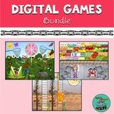 DIGITAL GAMES (Growing) Bundle: Speech therapy, teletherap