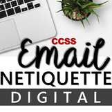 DIGITAL GOOGLE RESOURCE - HOW TO WRITE AN EMAIL: EMAIL ETIQUETTE