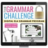 DIGITAL GRAMMAR ESCAPE CHALLENGE FULL YEAR PROGRAM  | DIST