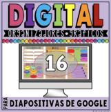 DIGITAL GRAPHIC ORGANIZERS IN GOOGLE SLIDES™ **SPANISH VERSION**