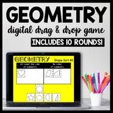 DIGITAL Geometry Shape Sort, Classifying Shape Game for Google Drive, 5.G.3