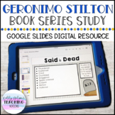 DIGITAL Geronimo Stilton Book Series Study - Google Slides