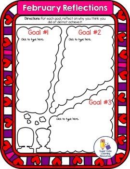 DIGITAL Goal Setting & Reflection Booklet:Google Classroom/Microsoft 365