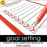 DIGITAL Goal Setting & Reflection Booklet:Google Classroom