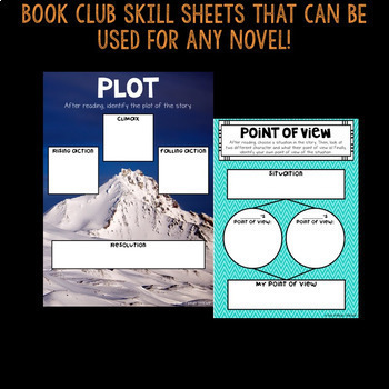 Distance Learning DIGITAL Book Clubs Fiction Edition