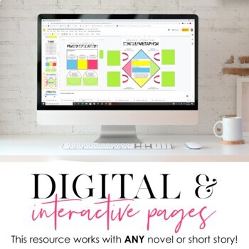 DIGITAL Google Drive Interactive Notebook: Reading Literature 6-12