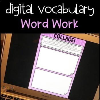 DIGITAL Google Drive Word Work for Upper Elementary