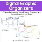 Digital Graphic Organizers for Upper Elementary