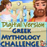 DIGITAL Greek Mythology Escape Room: Distance Learning Boom Cards