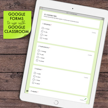 DIGITAL Greek and Latin Roots [Book 1] Distance Learning