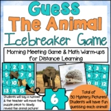 DIGITAL Guess the Animal Icebreaker Game for Distance Learning