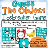 DIGITAL Guess the Object Icebreaker Game for Distance Learning