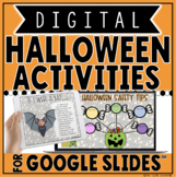 DIGITAL HALLOWEEN ACTIVITIES IN GOOGLE SLIDES™