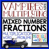 DIGITAL HALLOWEEN MULTIPLYING FRACTIONS WORD PROBLEMS: GOOGLE DRIVE