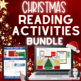 DIGITAL CHRISTMAS ELA ACTIVITIES BUNDLE | Distance Learning