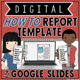 "DIGITAL ""HOW TO"" REPORTS IN GOOGLE SLIDES"