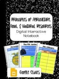 DIGITAL INTERACTIVE NOTEBOOK: Principles of AFNR