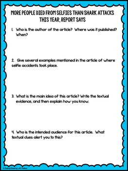 DIGITAL Informational Text - Teen Topics #2, Engaging Nonfiction