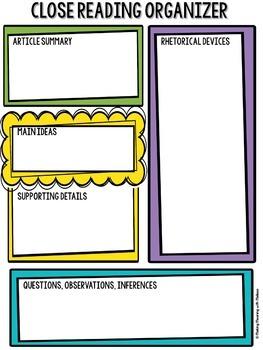 DIGITAL Informational Text - Teen Topics GROWING BUNDLE