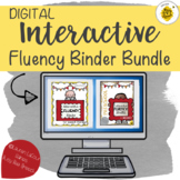 DIGITAL Interactive Fluency Binder BUNDLE for Speech Therapy