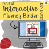 DIGITAL Interactive Fluency Binder for Speech Therapy | St