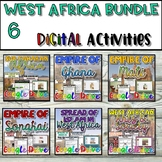 West Africa DIGITAL Interactive Notebook {Google Drive}