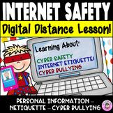 DIGITAL Internet Safety Lesson Cyber Safety, Internet Neti
