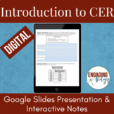 DIGITAL Introduction to CER for Distance Learning