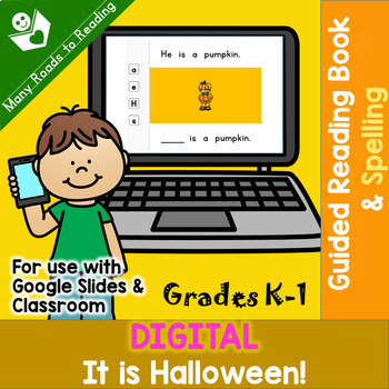 DIGITAL It is Halloween K-1 BOOK & SPELLING