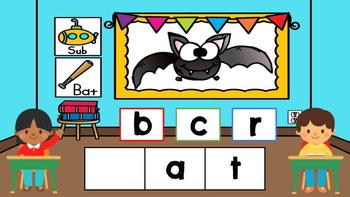 DIGITAL KINDERGARTEN ELA CENTER- Back to School Beginning Sounds