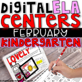 DIGITAL KINDERGARTEN ELA CENTERS FEBRUARY