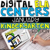 DIGITAL KINDERGARTEN ELA CENTERS JANUARY