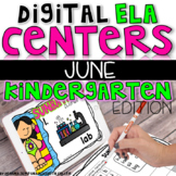 DIGITAL KINDERGARTEN ELA CENTERS JUNE
