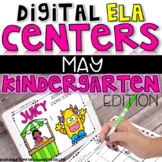 DIGITAL KINDERGARTEN ELA CENTERS MAY