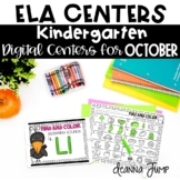 DIGITAL KINDERGARTEN ELA CENTERS OCTOBER